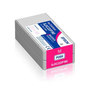 Cartucho tinta magenta EPSON TM C3500 SJIC22P(M)