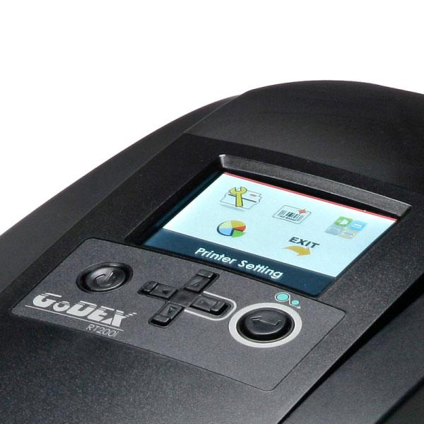 Impresora de sobremesa con display GODEX RT200i RT230i