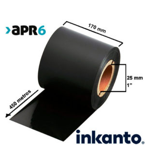 Ribbon Mixto Cera/Resina Premium APR6 170x450