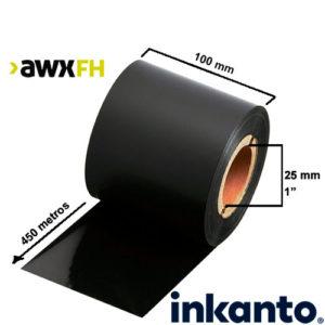 Ribbon cera premium AWX FH 100x450