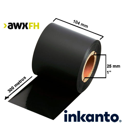 Ribbon cera premium AWX FH 104x300