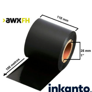 Ribbon cera premium AWX FH 110x100