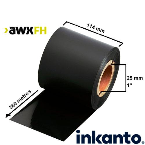 Ribbon cera premium AWX FH 114x360