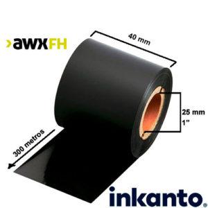 Ribbon cera premium AWX FH 40x300
