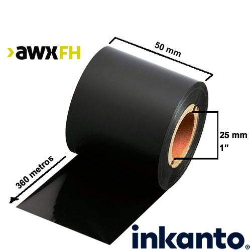 Ribbon cera premium AWX FH 50x360
