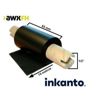 Ribbon cera premium AWX FH 65x74 out