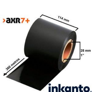 Ribbon Resina Premium AXR7+ 114x360