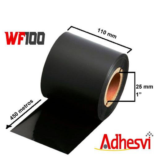Ribbon Cera Estándar WF100 110x450